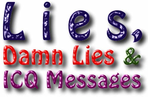 ICQ Lies Update Page One